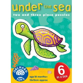 Puzzle 6 in 1 Under the Sea