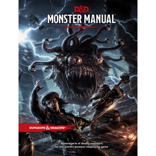 D&D Book: Monster Manual