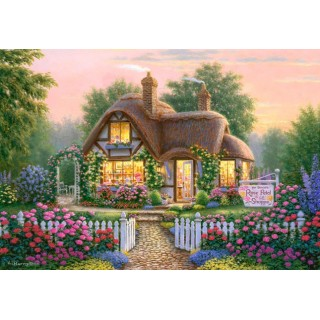 Puzzle 500 piese Rose Petal Gift Shoppe