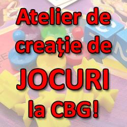 Atelier de creatie Board Games