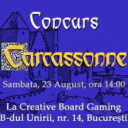 Concurs Carcassonne - vezi galeria foto pe Facebook
