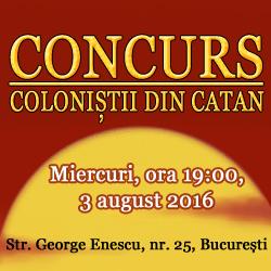 concurs catan
