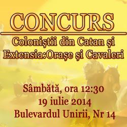 Concurs CATAN O&C