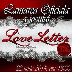 Lansare Love Letter